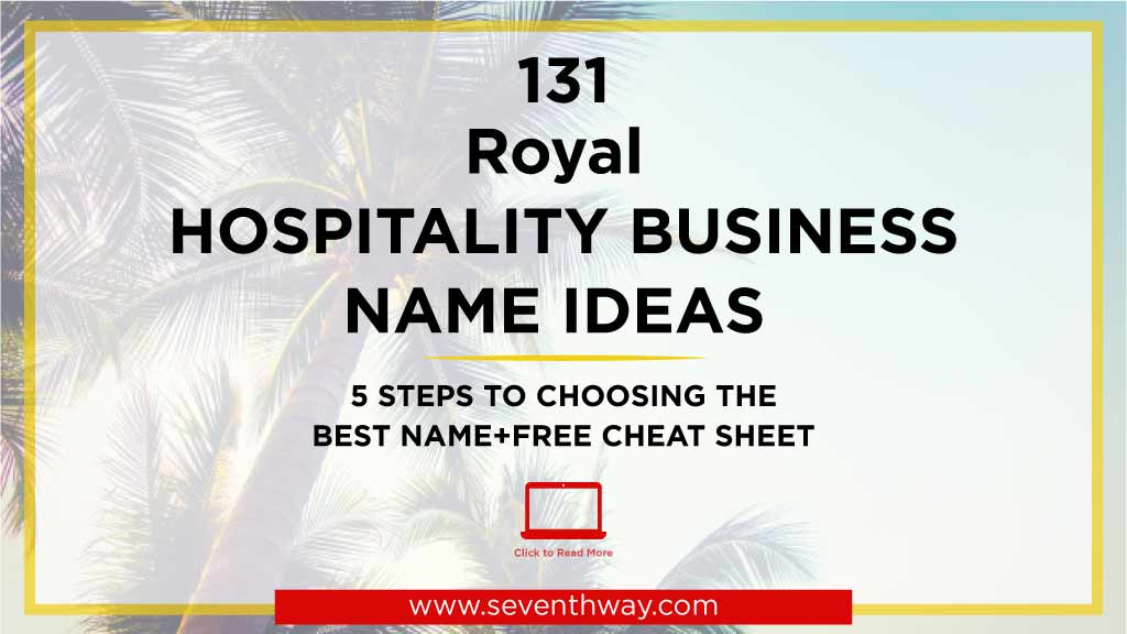 hospitality names ideas