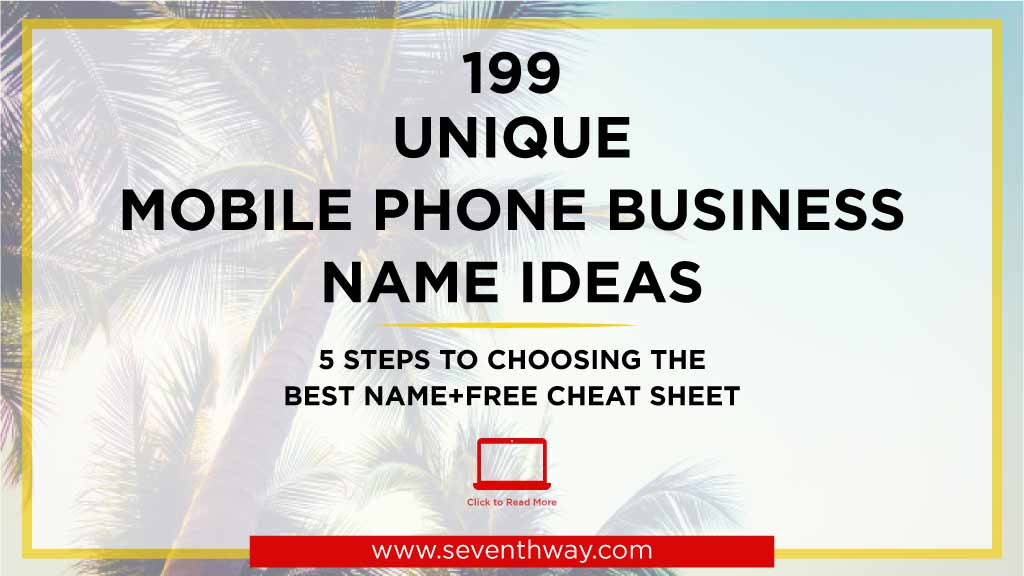 mobile phone business ideas