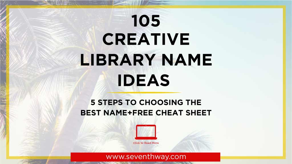 catchy library name ideas