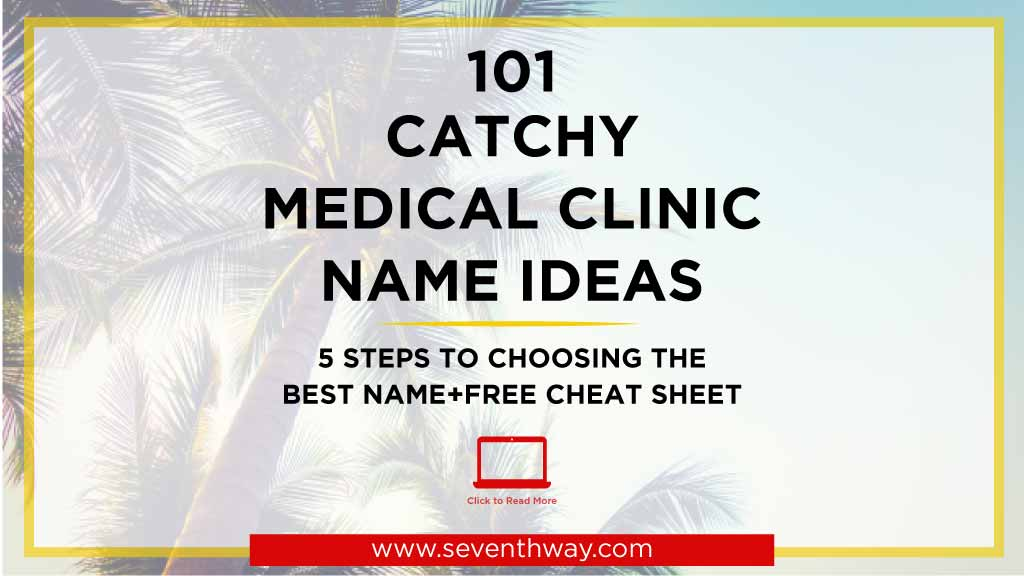catchy medical clinic names