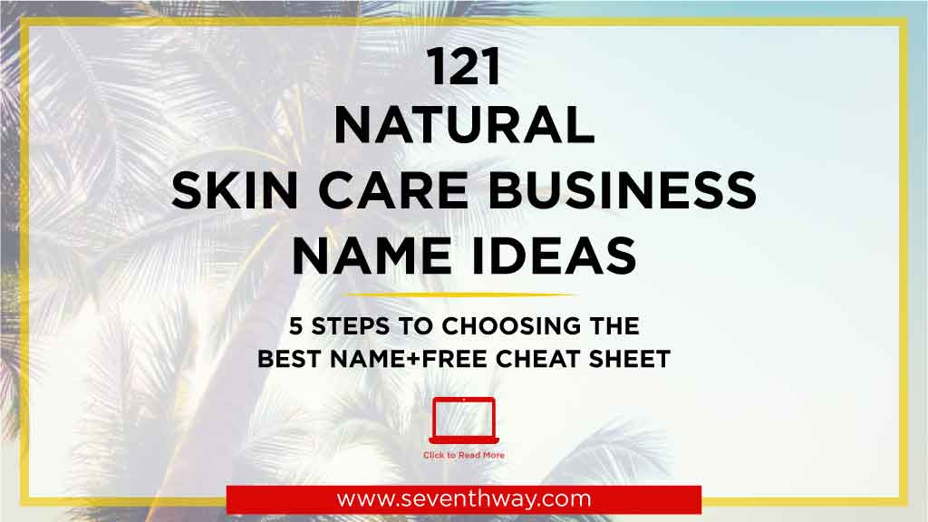 catchy names for skincare business