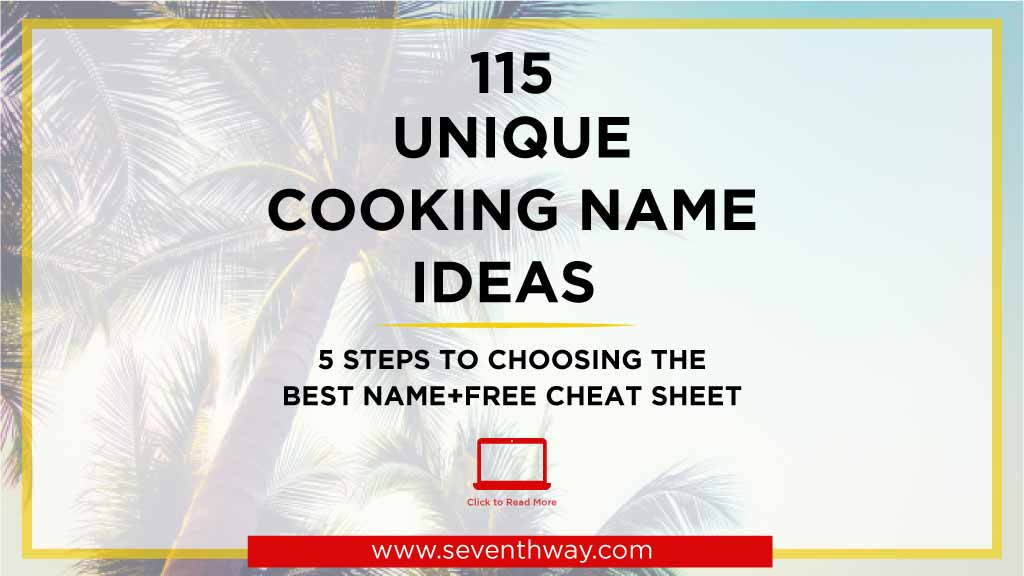 cooking names for business