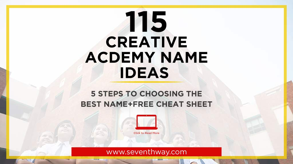creative academy name ideas