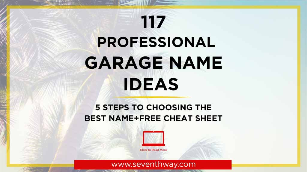 garage business name ideas