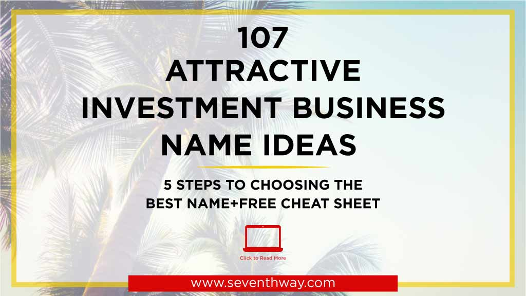 investment company name suggestions