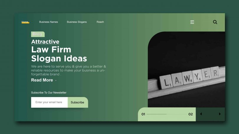 Attractive law firm slogans Ideas