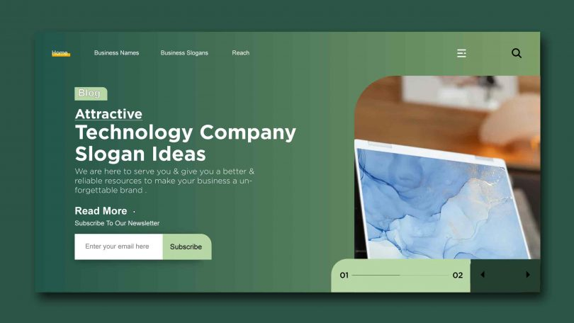 Attractive technology company Slogan Ideas