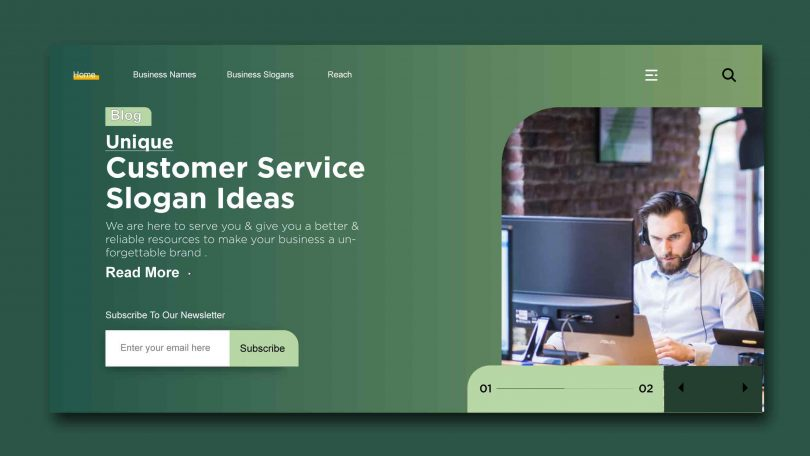 Unique Customer Service Slogan Ideas