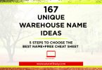 warehouse name ideas